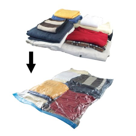 Space Saver Bags Walmart Delectable Travel Space Saver Bags 60pc Set RollUp Compression Storage No