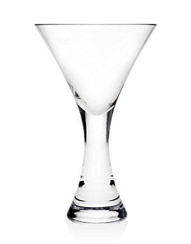 Finley Set of 2 Cocktail Glass by Godinger Silver Art