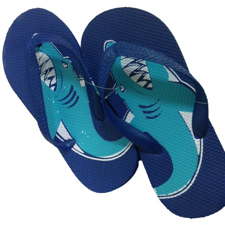 f232d4985b09 Kics Little Boys Cool Summer Flip Flops Shower Shoes Cartoon Sandals -  Walmart.com