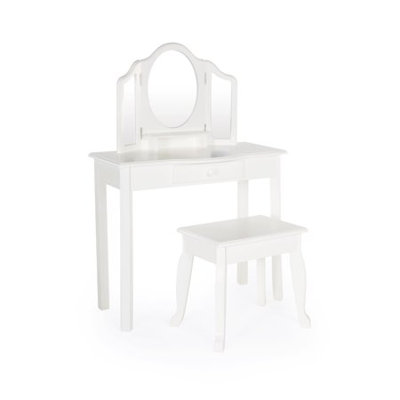 Classic Vanity and Stool - -