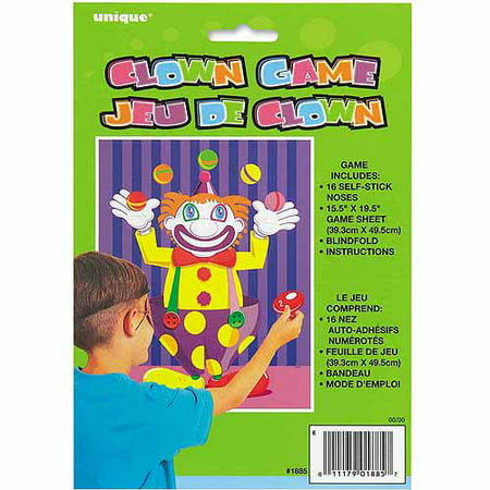Pin the Nose on the Clown Party Game - Pin The Nose On The Snowman