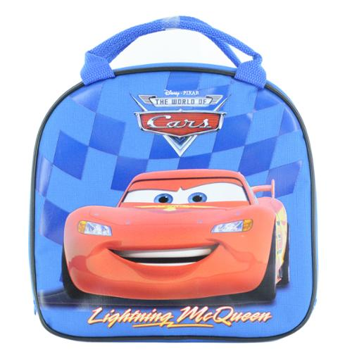 Lightning McQueen Insulated Lunch Bag with Adjustable Shoulder Strap & Water Bottle Blue