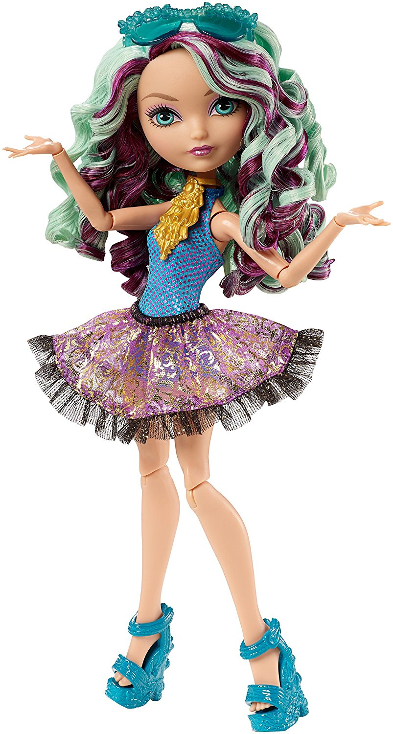 Mirror Beach Madeline Hatter Doll, At Ever After High, the teenage sons and daughters of the most famous... by