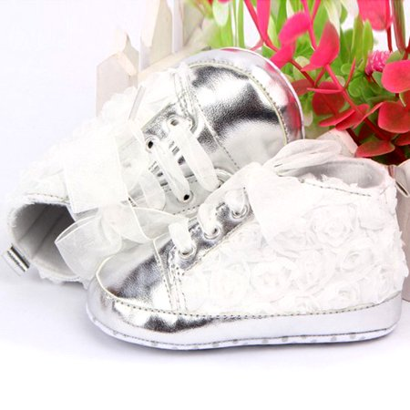 Baby Girls Toddler Lace up Sneaker Anti-Slip Boots Crib Shoes](Sneaker Boots Girls)