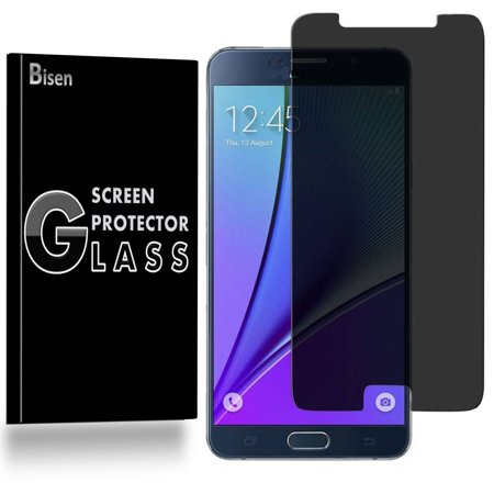 - Samsung Galaxy Note 5 [2-Pack BISEN] Privacy Tempered Glass Screen Protector, Anti-Spy [Keep your screen secret]