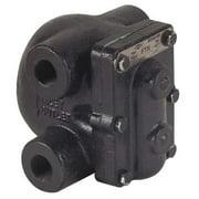 CRESCENT NICHOLSON FTN-C5D9A Steam Trap,450F,Cast Iron,0 to 125 psi