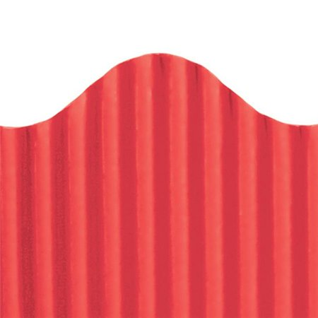 Corrugated Border  Red (Magenta Border)