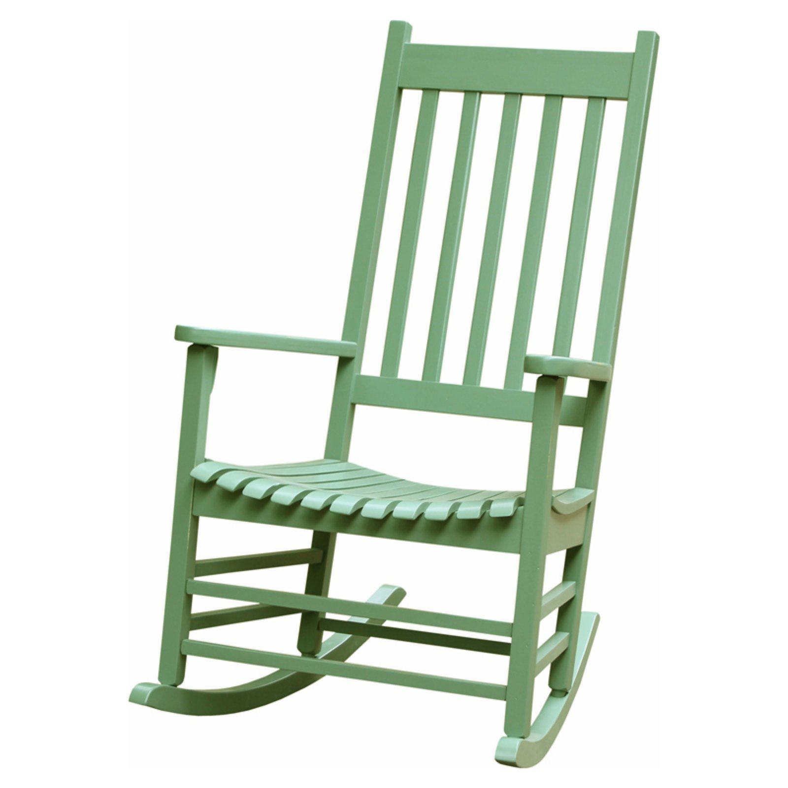 International Concepts Porch Rocker, Solid Wood, Moss