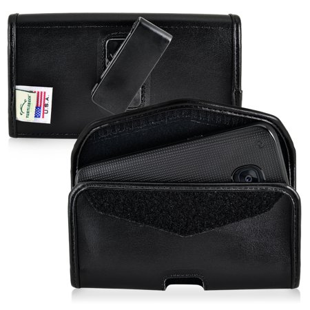 - Samsung Galaxy S7 Basic Holster Belt Clip Case Pouch Turtleback, in Leather and Nylon Made in USA