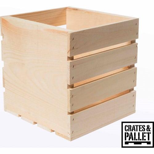 Crates & Pallet Square Crate