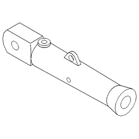 49B51 New Leveling Screw Housing Made to fit Case-IH