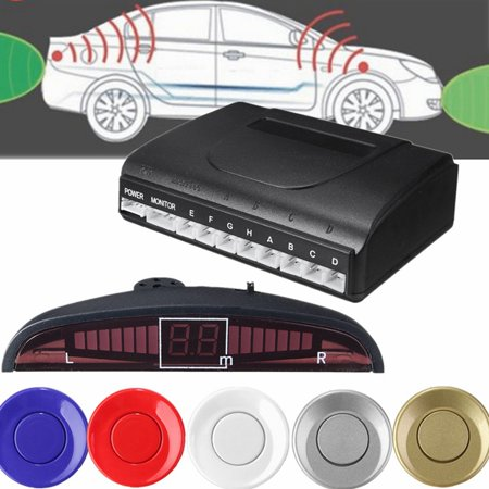 8 Parking Sensors LED Display Car Reverse Backup Radar System Kit Sound Alert✔ 5 Colors Choose✔US Stock ✔ Free Fast Shipping
