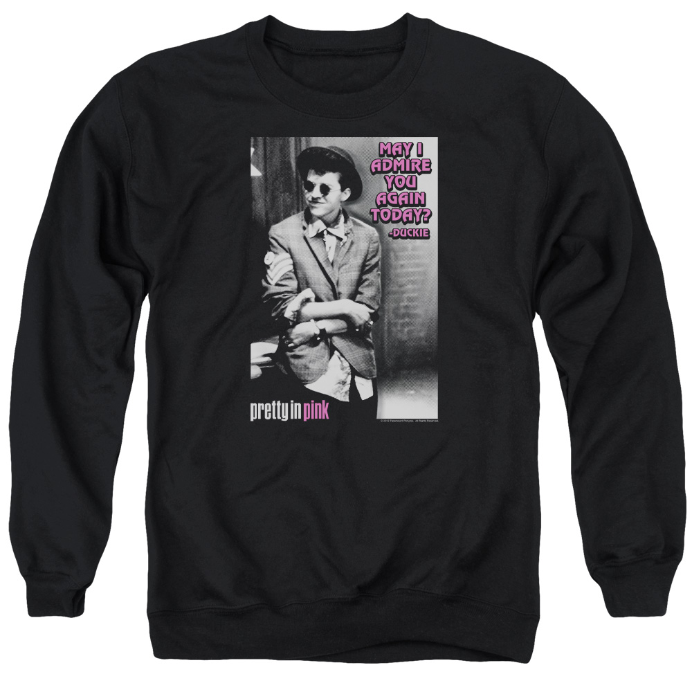 Pretty In Pink Admire Mens Crewneck Sweatshirt