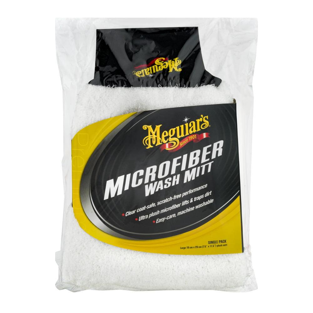 Meguiar's Microfiber Wash Mitt, 1.0 CT