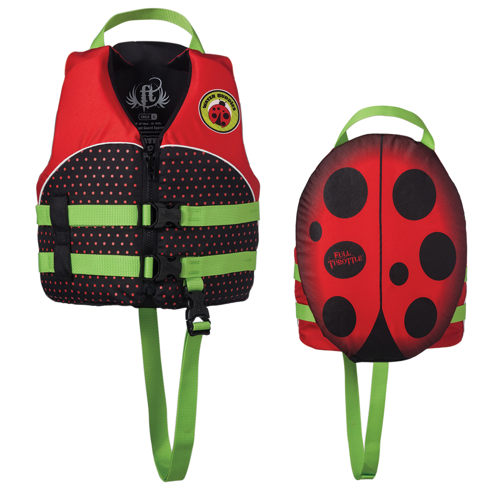 Full Throttle Child Water Buddies Bug Vest Child by Absolute Outdoor