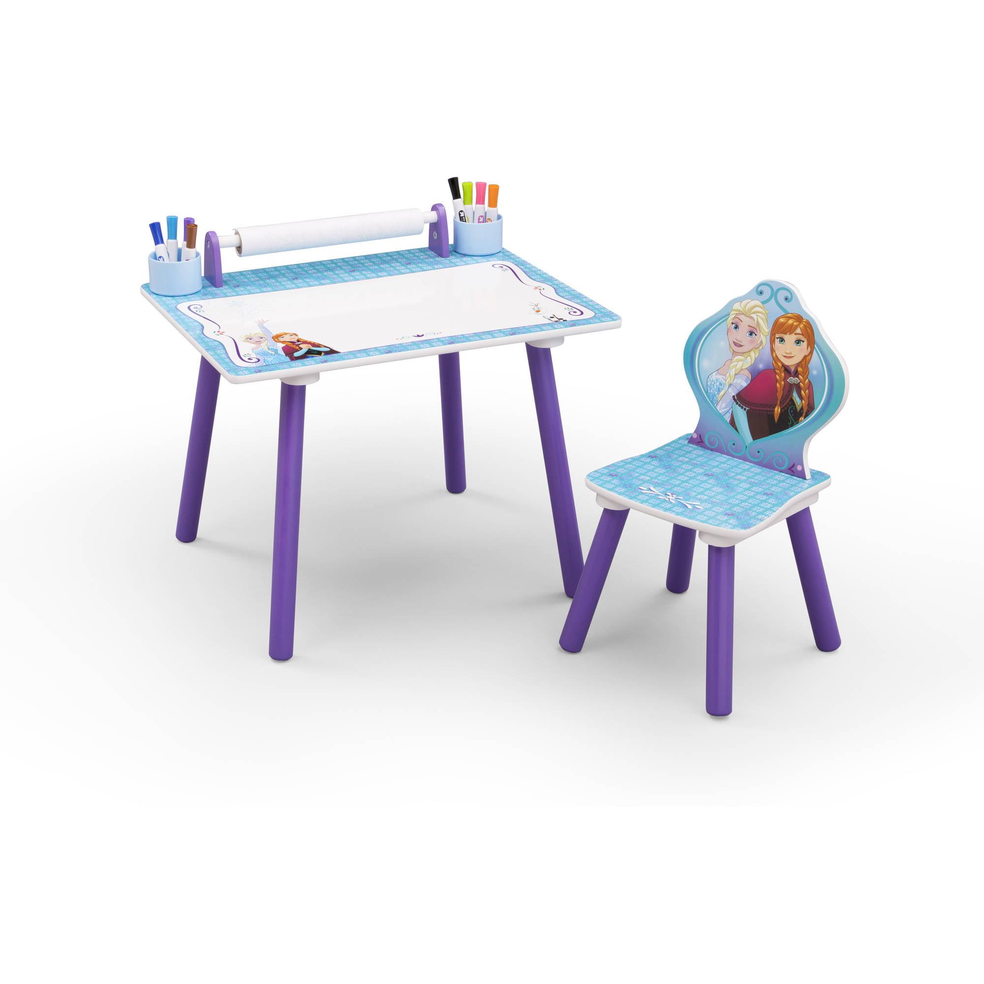 Delta Children Disney Frozen Art Desk Walmart Com