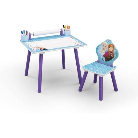 Disney Frozen Bedroom Set with BONUS Art Desk - Walmart.com