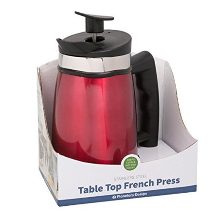 French Press Tabletop Coffee and Tea Maker Stainless Steel - 20 oz -