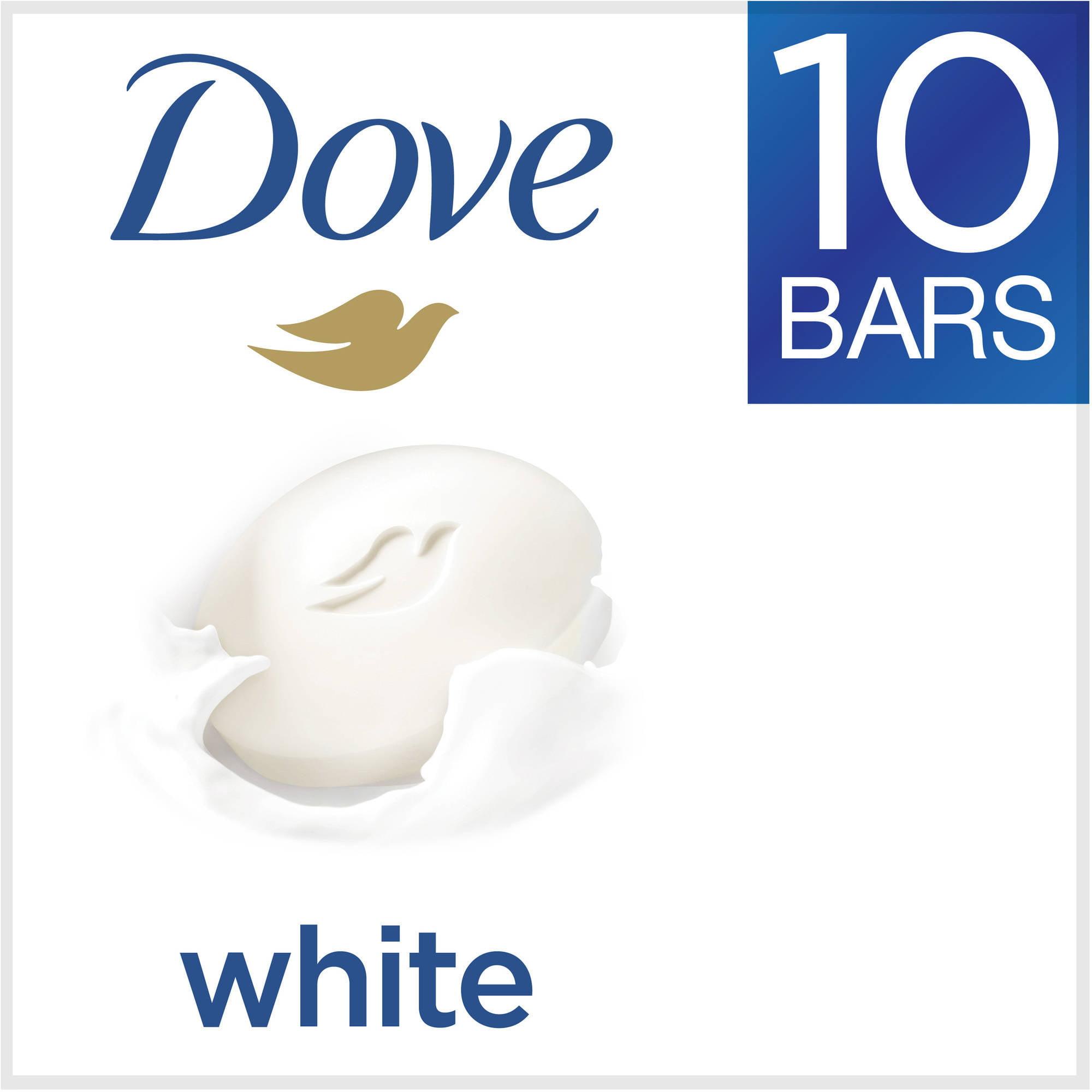 Dove White Beauty Bar, 4 oz, 10 Bar
