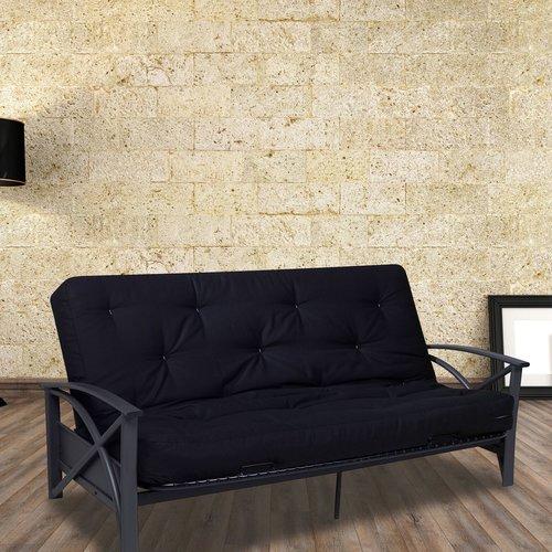 Brussels futon sofa w/ Bayside black duck futon