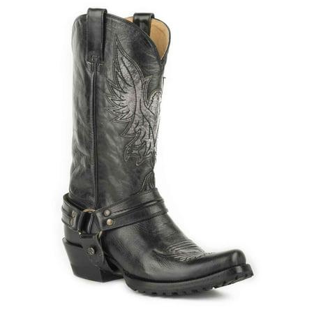 Roper 7750 All Black Polishable Leather