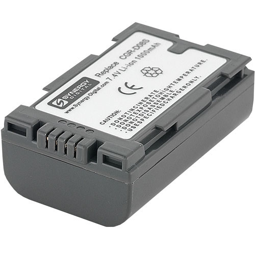 Panasonic PV-DV900 Camcorder Battery Lithium-Ion (1000 mAh)  - Replacement for Panasonic CGR-D08 Battery