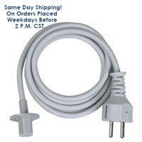 """Genuine Apple iMac 6 ft Power Cable fits iMac G5 20"""" 21.5"""" 24"""" and 27""""-Reconditioned 1 Year Warranty"""