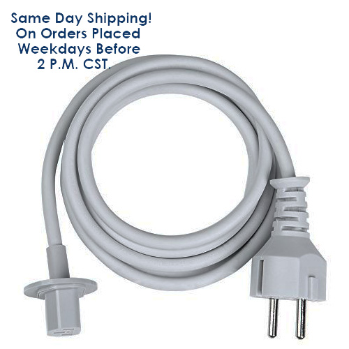 """Replacement Original Apple 6 ft Power Cable fits iMac G5 20"""" 21.5"""" 24"""" and 27""""-Reconditioned 1 Year Warranty"""