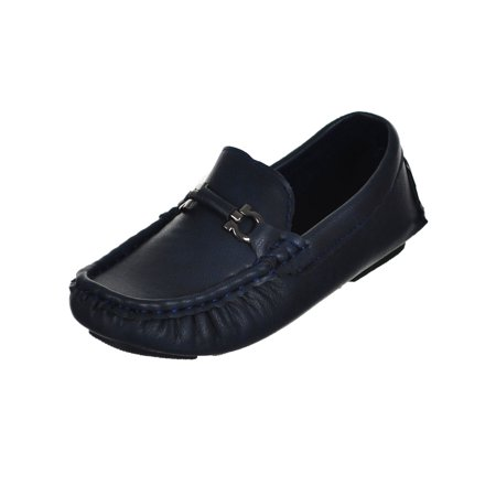 Eddie Marc Boys' Driving Loafers (Sizes 5 - 4) - Vans Boys Size Chart