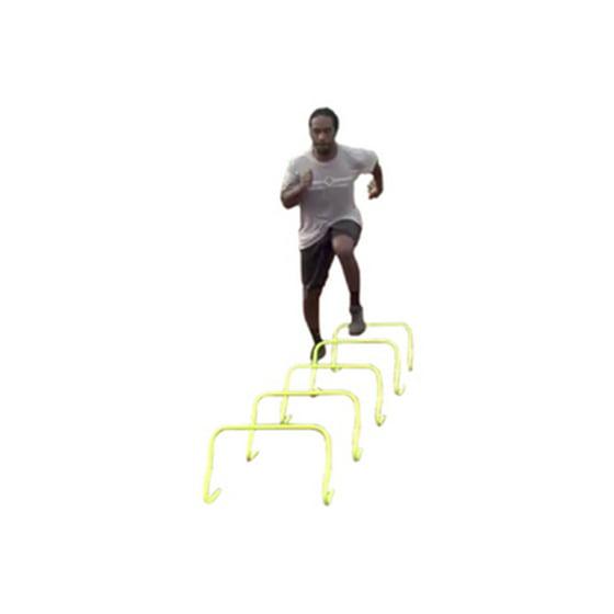 593db43f07e56 SPORTSPEED (2 in 1 Kit) - (5) Agility Speed Hurdles + (1) 15 Foot Agility  Speed Ladder