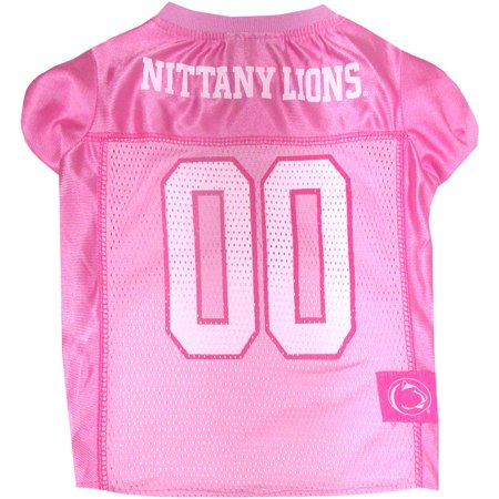 Pets First College Penn State Nittany Lions Pet Pink Jersey, 4 Sizes - State College Halloween Store