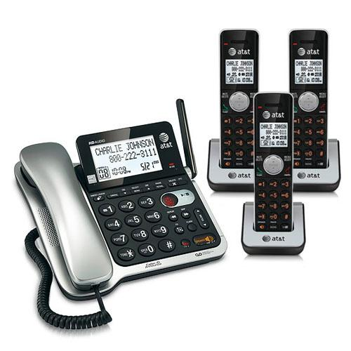 AT&T CL84302 Corded/Cordless Phone System