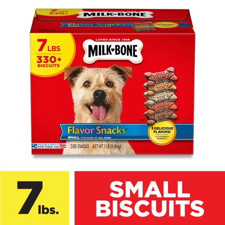 Milk-Bone Flavor Snacks Meaty Flavors Dog Treats, 7 Pounds