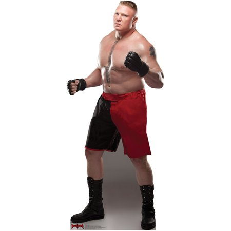 Official WWE Authentic Brock Lesnar Standee Multi