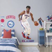 Fathead Joel Embiid - Life-Size Officially Licensed NBA Removable Wall Decal