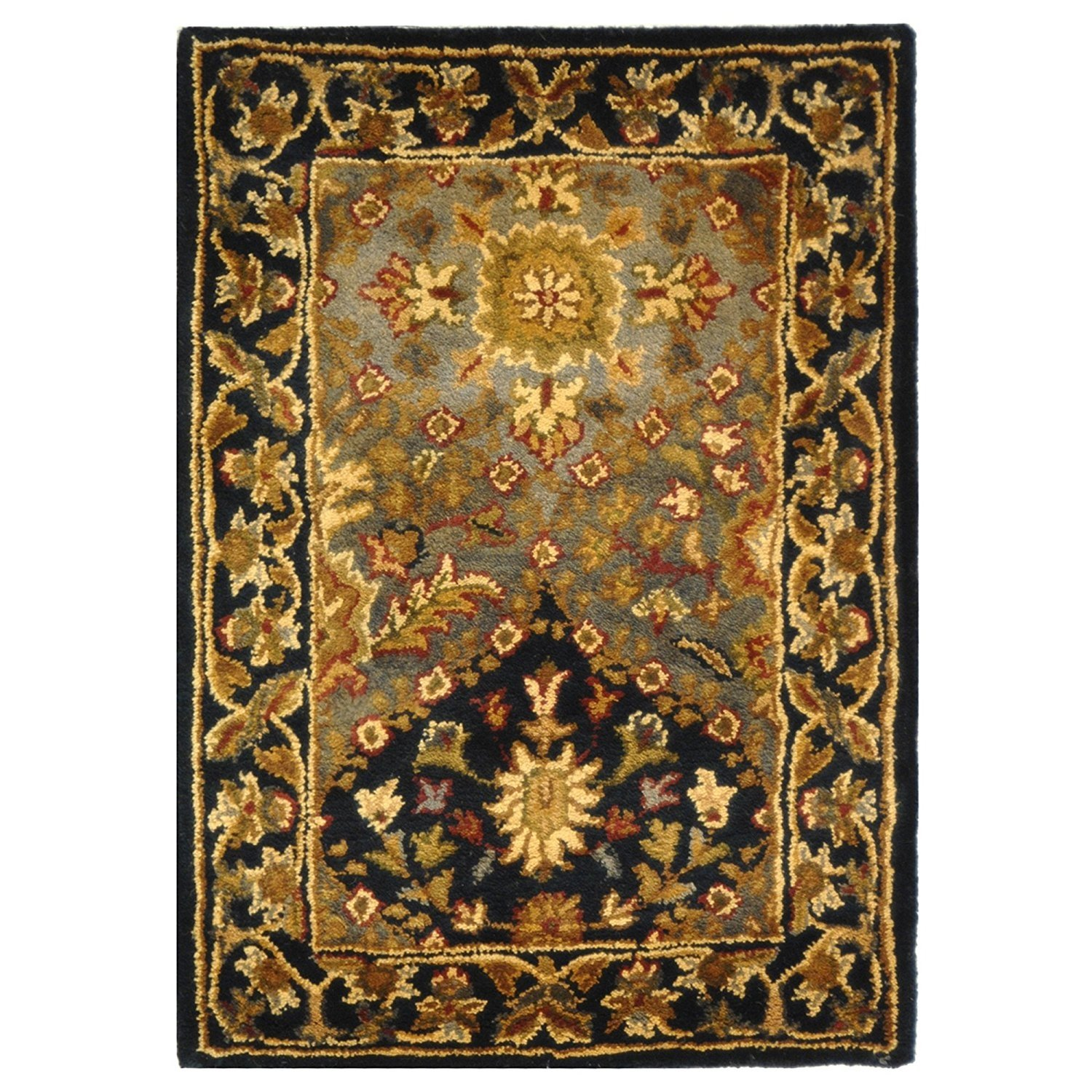 Safavieh Antiquities Collection AT57B Handmade Traditional Oriental Wine Wool Area Rug (2' x 3')