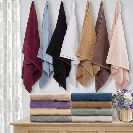 Superior 600GSM Egyptian Quality Cotton 4-Piece Bath Towel (Nantucket Bath Towel)