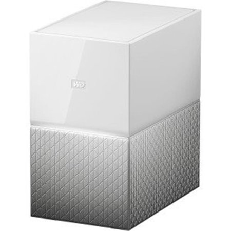 4 TB My Cloud Home Duo NAS Storage System