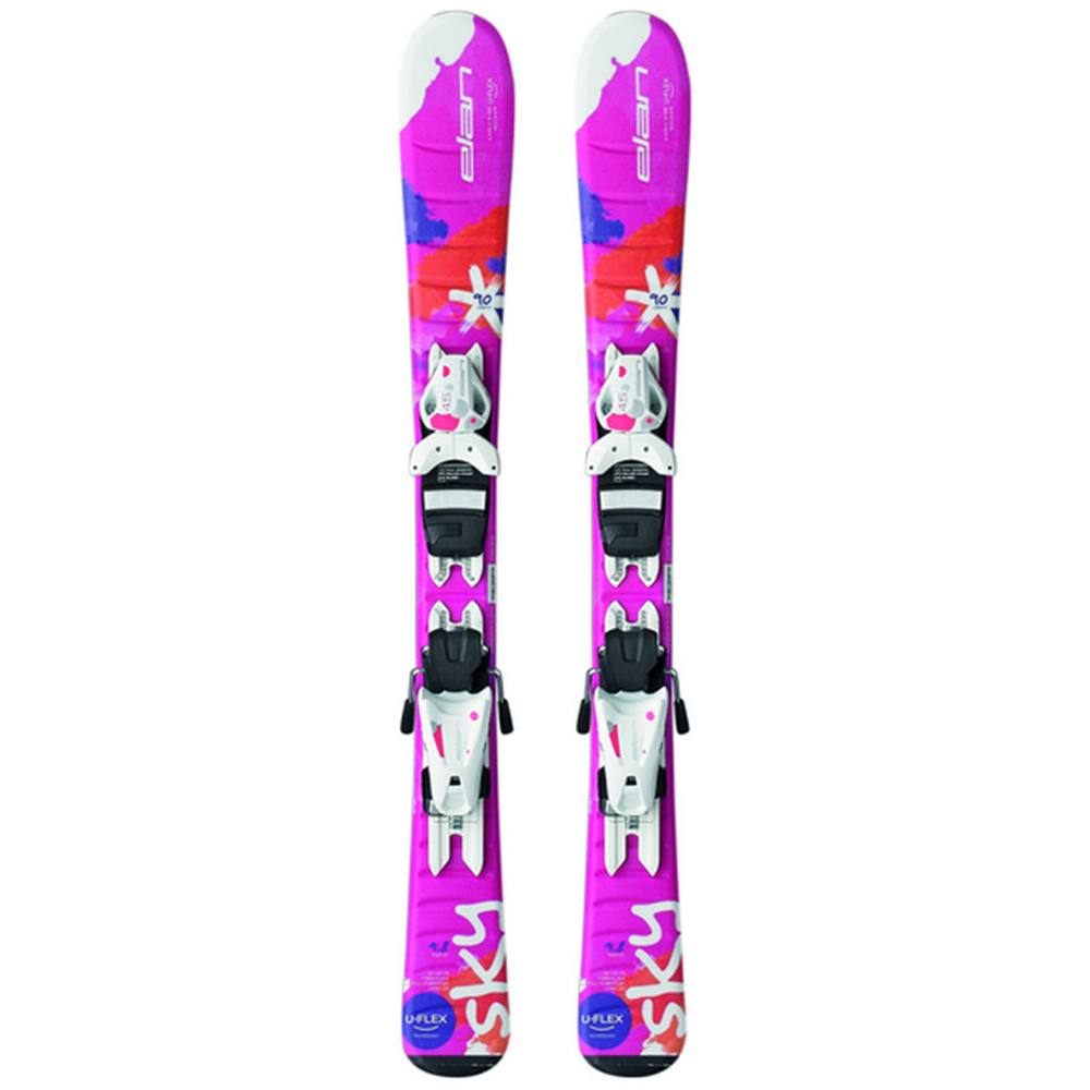 Elan Sky QS Ski Kids With EL 7.5 by Elan