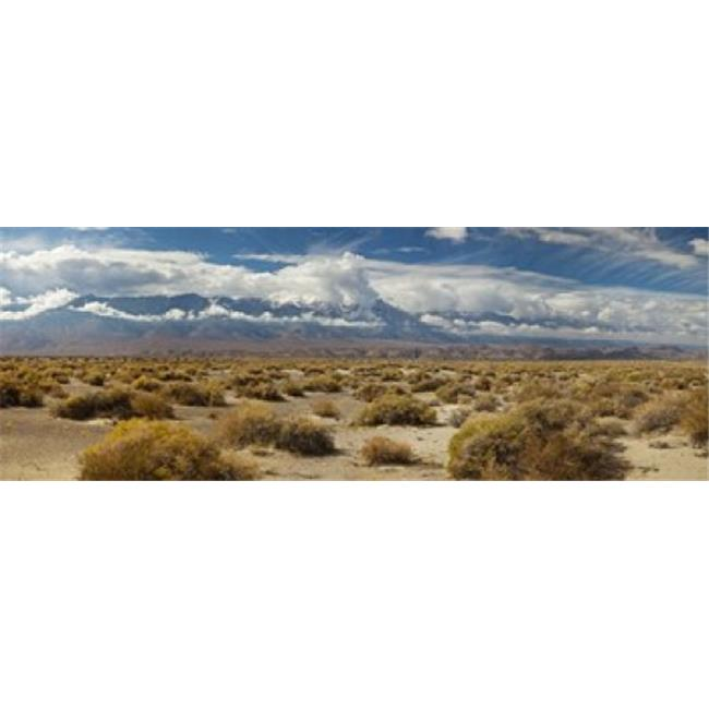 Death Valley landscape  Panamint Range  Death Valley National Park  Inyo County  California  USA Poster Print by  - 36 x 12 - image 1 de 1