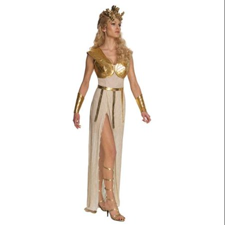 Clash Of Titans Sexy Athena Greek Mythology Goddess Costume Adult - White Greek Goddess Costume