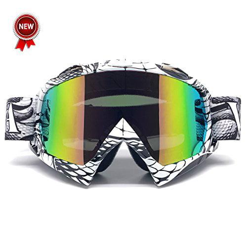 Zdatt Professional Adult Motocross Goggles Dirt Bike ATV ...