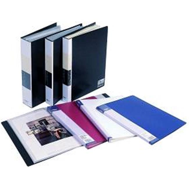 Filexec Products 92409 Presentation Book 8.5x11 Black