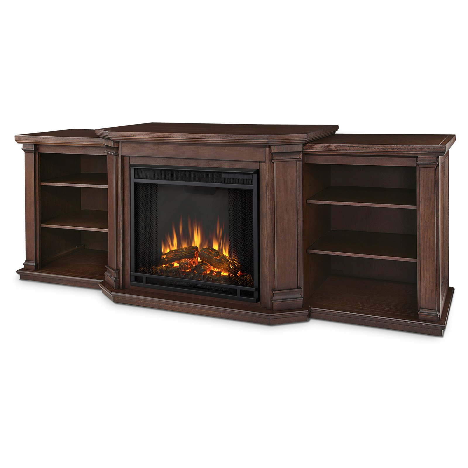 Real Flame Valmont Entertainment Center Electric Fireplace