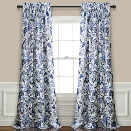 Jacobean Vine - Cynthia Jacobean Room Darkening Window Curtain Set