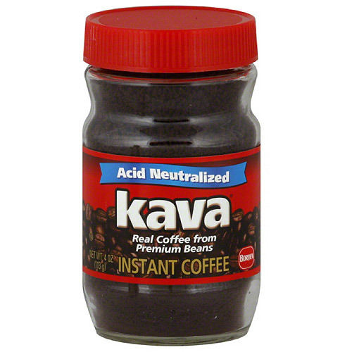 Kava Instant Coffee, 4 oz (Pack of 12)