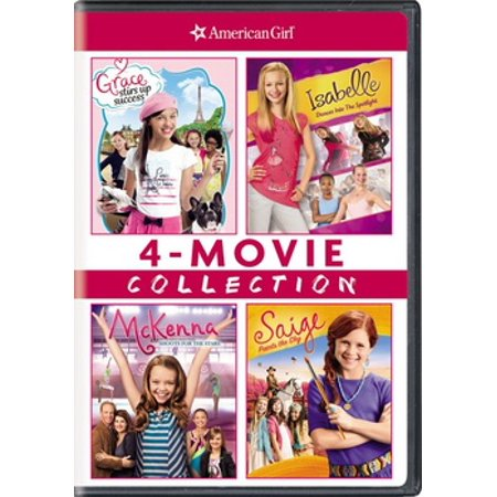 American Girl: 4-Movie Collection (DVD) - Pink Girl Movie