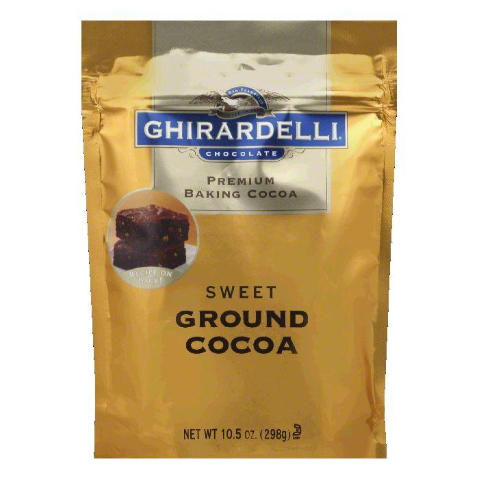 Ghirardelli Cocoa Baking Sweet Ground Pouch, 10.5 OZ (Pack of 6) by