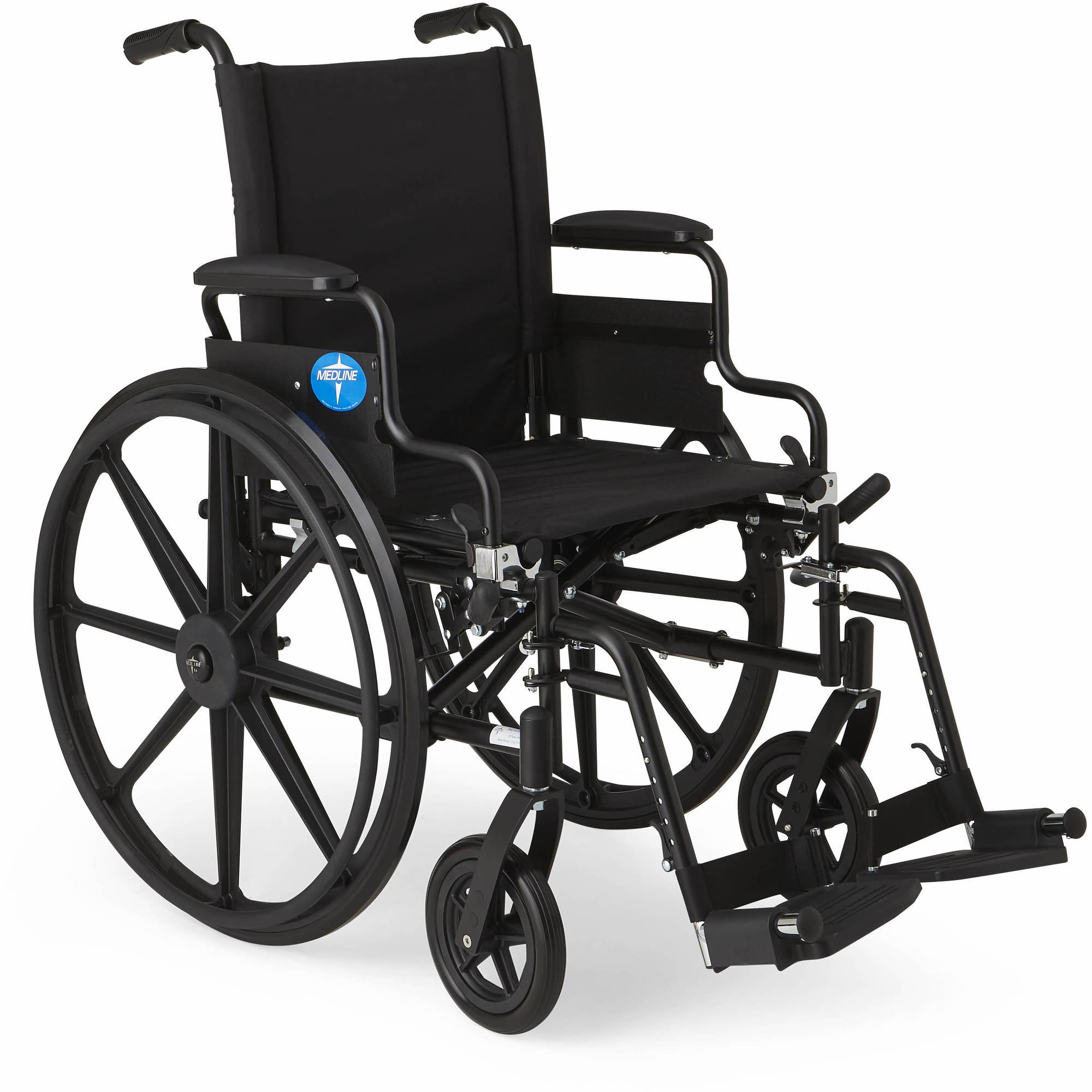 Medline's Premium Wheelchair