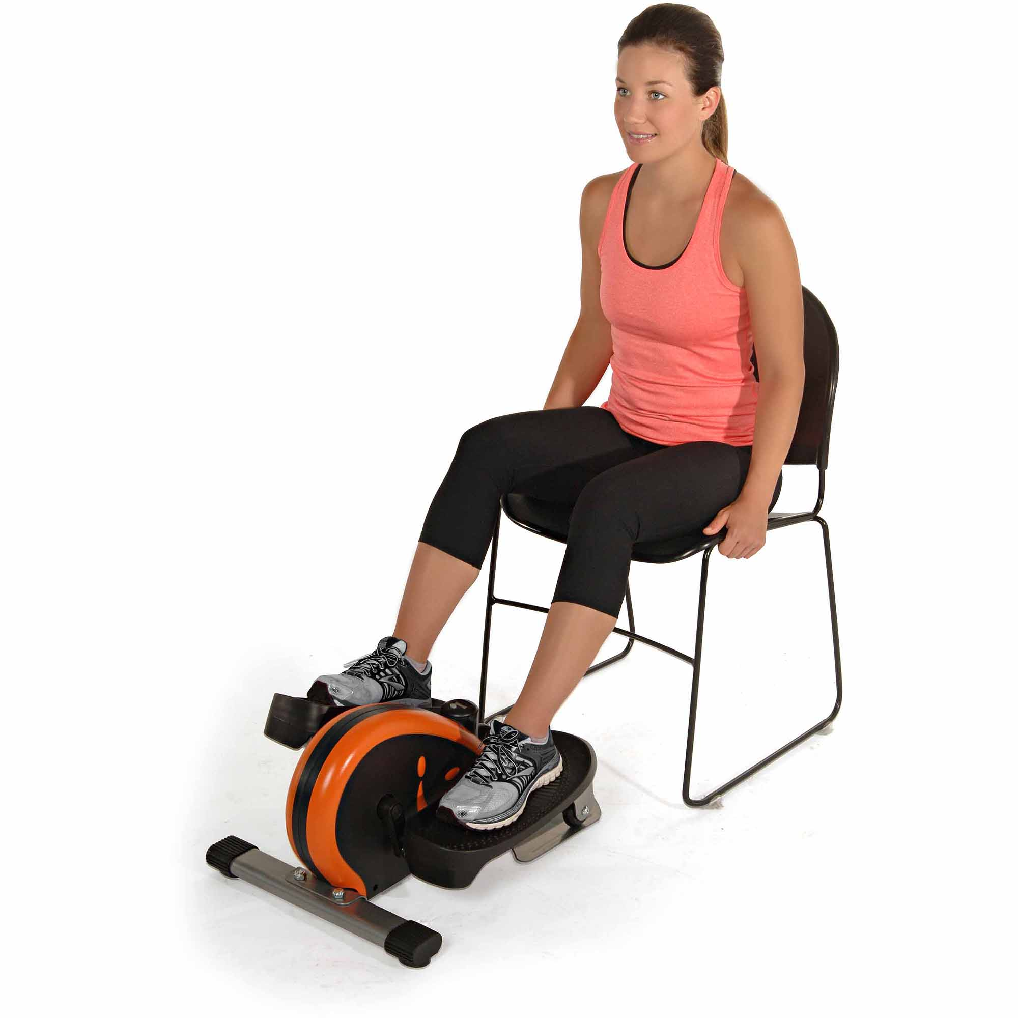 Stamina InMotion Elliptical Orange Walmartcom - Small elliptical for home